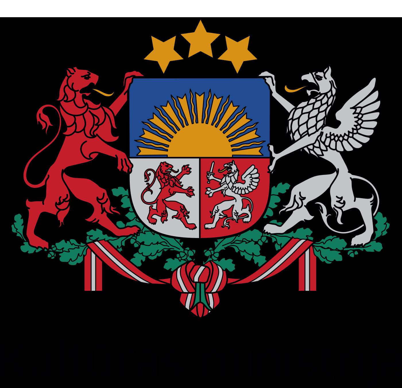 Kultūras ministrijas logo
